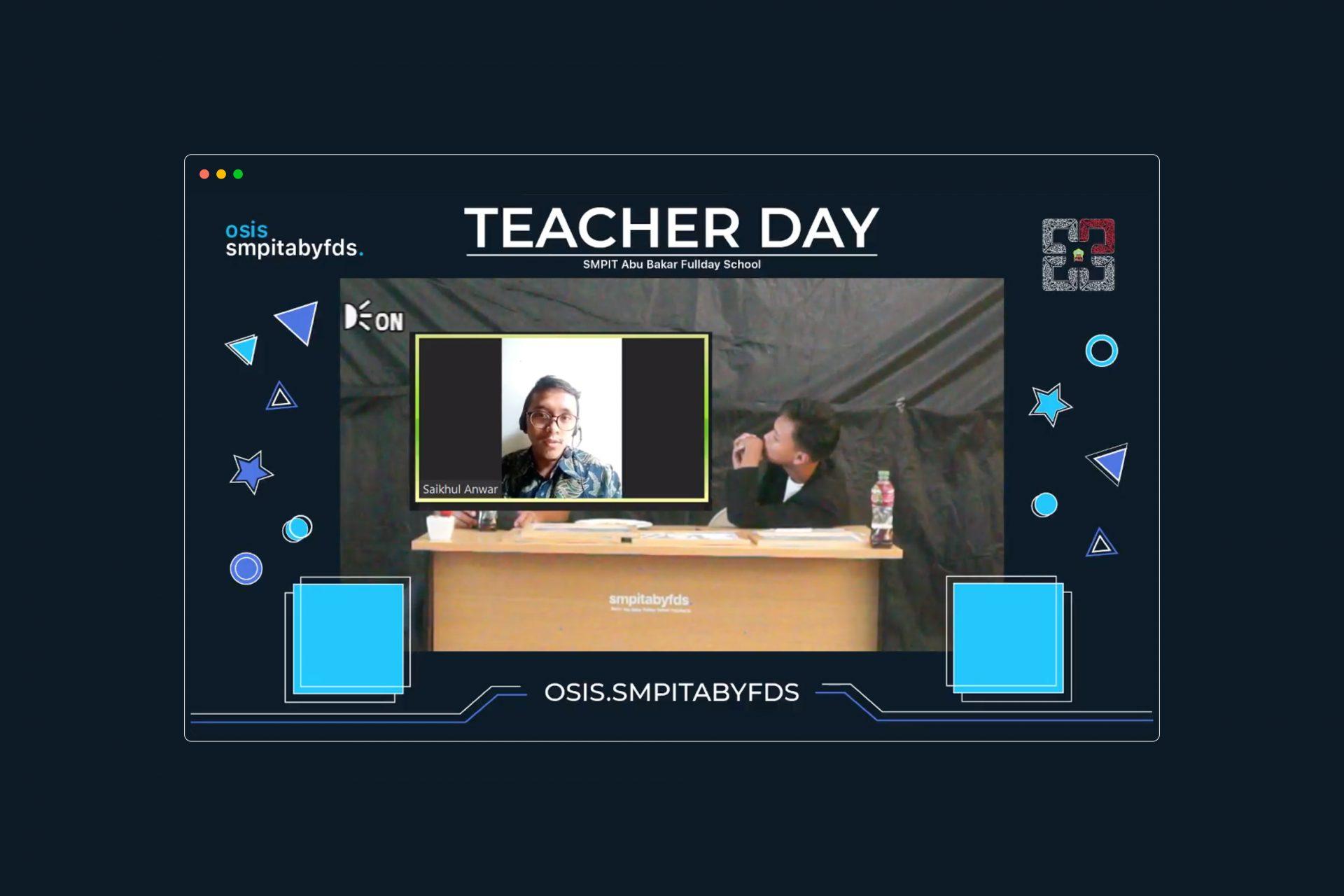 Semarakkan Agenda Sertijab dan Hari Guru Retas Jarak dan Waktu SMPIT ABYFDS