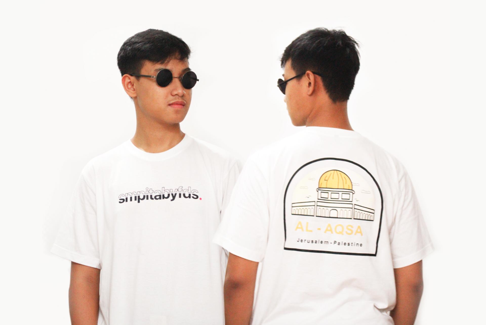 Desain Kaos Al Aqsa SMPITABYFDS karya Bintang Putra Pratama Mockup