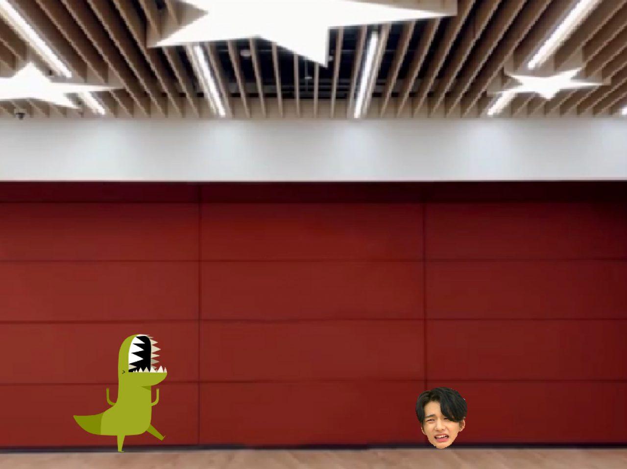 Game – Dino Jump karya Kufiya Fahma Kamila