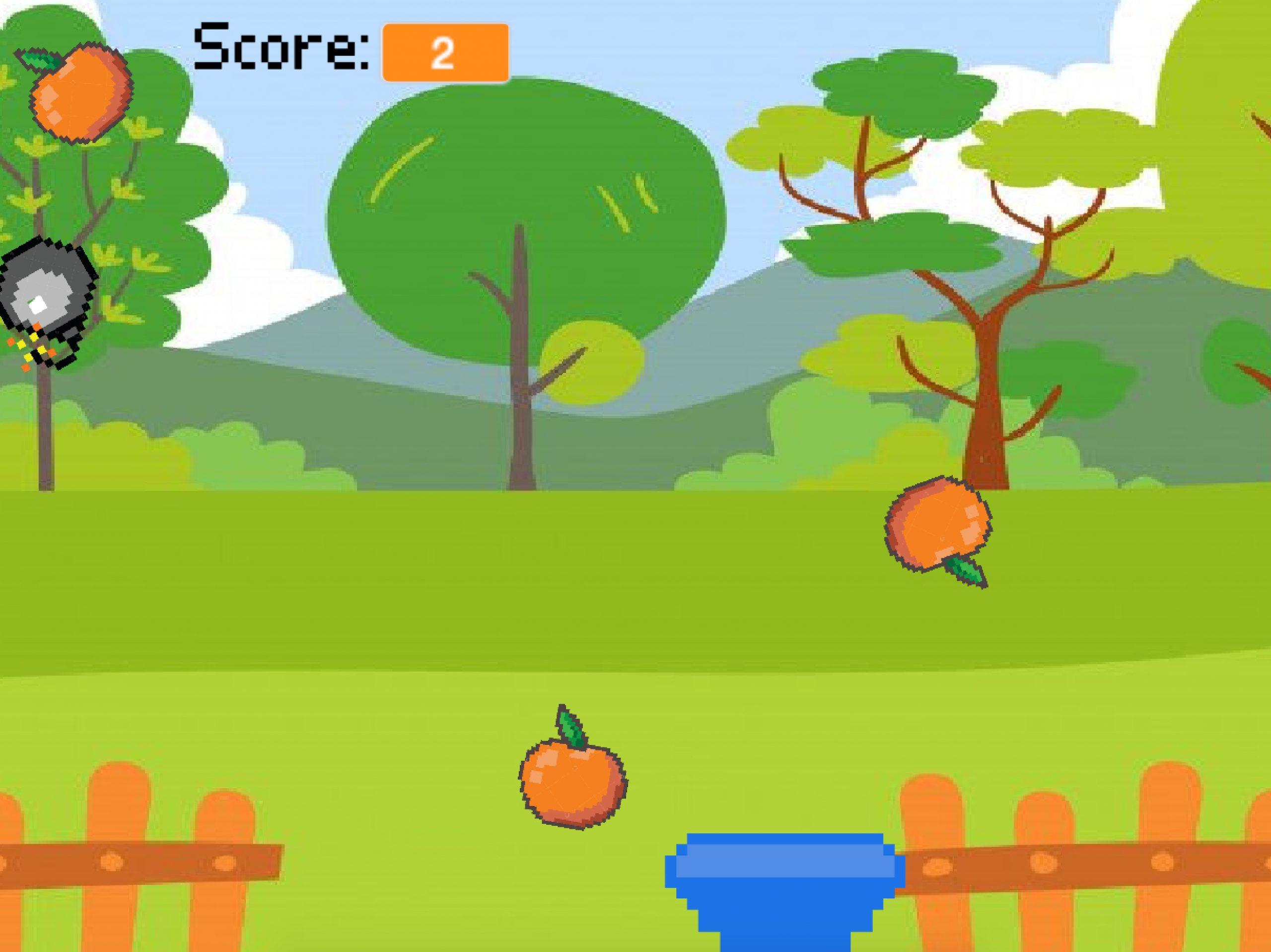 Game – Help Grandma Get Oranges karya Raeesa Syafika