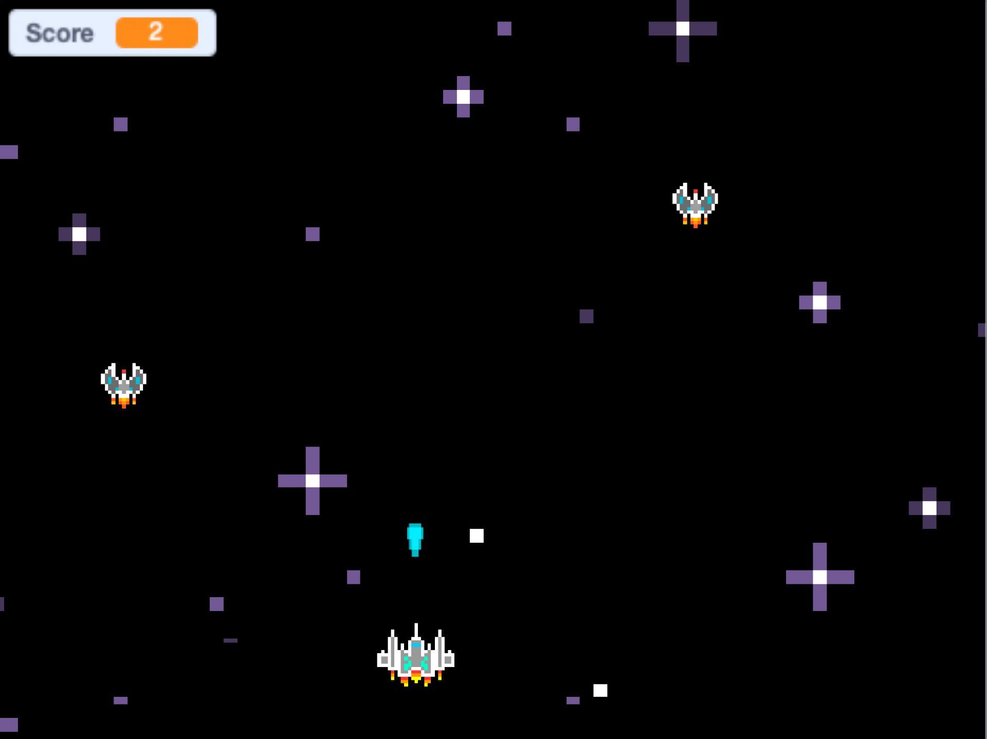 Game – Space Impact karya Raditya Rasyadul Ihsan